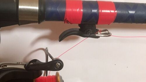 Sea Fishing Casting Trigger// Cannon Clip// Thumb Button// Fixed Spool Casting Aid