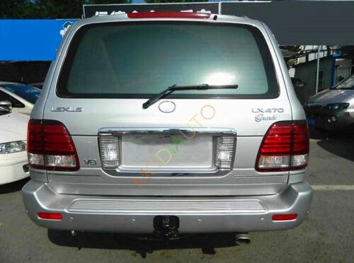 For Lexus LX470 2003-2007 Chrome License Number Plate Frame Reverse Backup Light