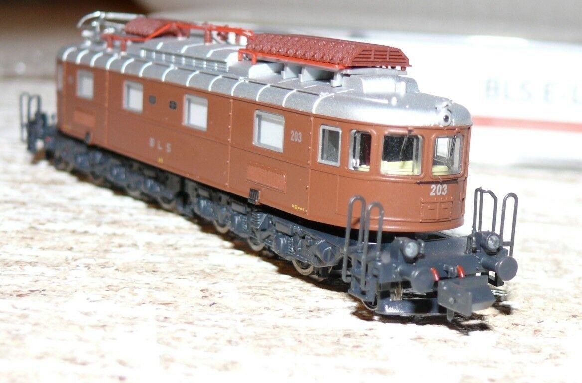 HS Hobbytrain h10183s E-Lok Marronee 203 BLS Ae 6 8 8-achsig SOUND N