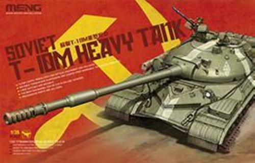 Meng TS-018 1 35 Soviet T-10M Heavy Tank