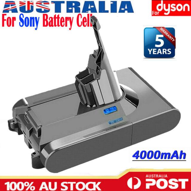 For Dyson V8 Absolute 21.6V 4000mAh SV10 Cordless Vacuum Cleaner Li-ion Battery