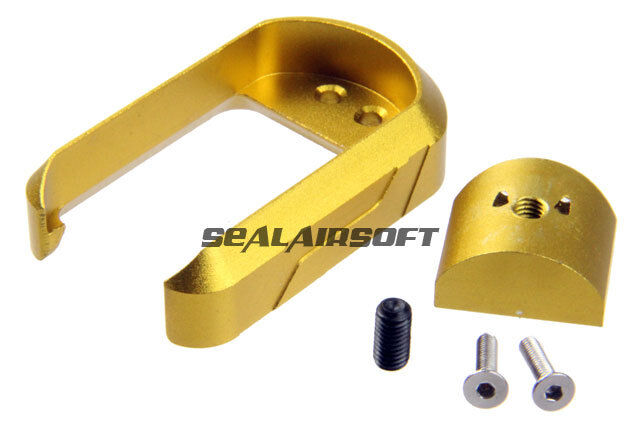 5KU Aluminum Airsoft Toy Magwell For Marui G17 G18C GBB (gold) 5KU-GB276-GD