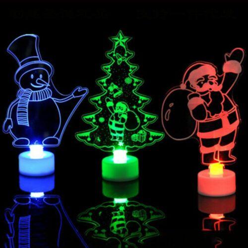 Christmas Tree Desktop Decor Night Light Christmas Lamp Home Decoration