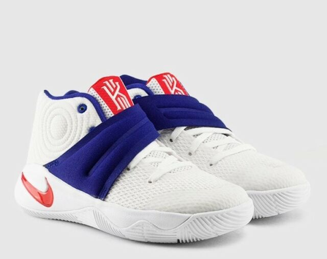 Nike Kyrie 2 Boys Preschool Whiteuniversity Reddeep Royal Blue