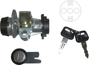 739105-Ignition-Switch-amp-Seat-Lock-Peugeot-Speedfight-50-5-Pin-see-desc