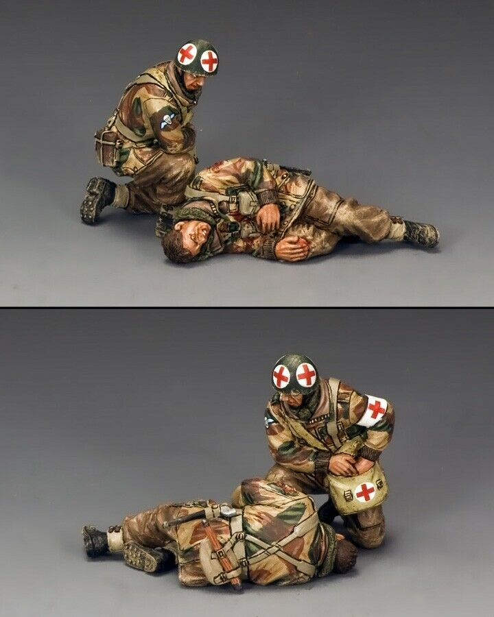 KING AND COUNTRY  Medic & Wounded Wounded Para  MG056(P) MG56P)