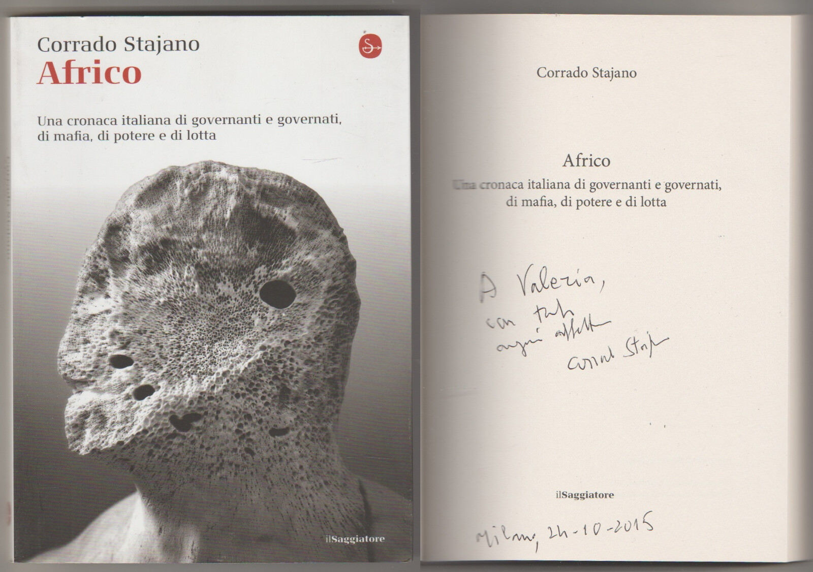 Africo - (autografato)