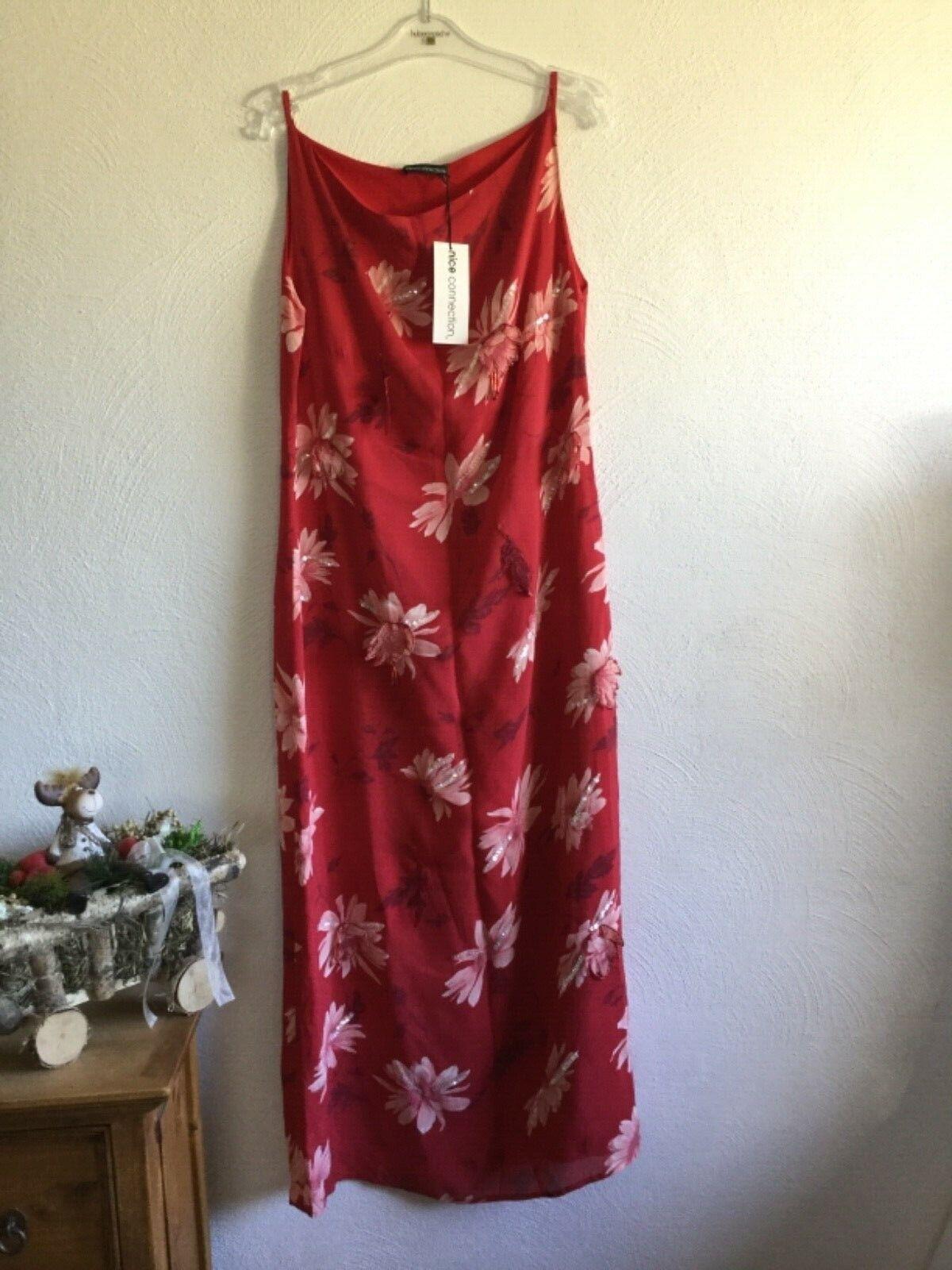 Nice Connection Kleid Sommer Abendkleid NP   Gr. 44 NEU