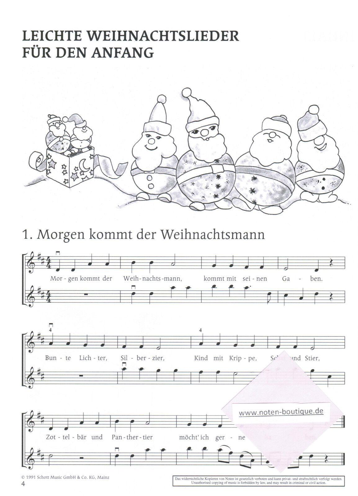 Leichte Weihnachtslieder.Violine Noten Das Fröhliche Weihnachtslieder Heft F 2 3 Violinen Leicht