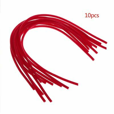 10Pcs Fishing Float Tail DIY Floats Hollow 0.8//1.2mm Thicken Tackle Tube Rigging