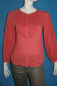 COMPTOIR-DES-COTONNIERS-Taille-36-Superbe-blouse-manches-longues-rose-GALAGO