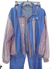 Gortex Mens Athletic Golf Rain Suit Pro Quip England Navy XL Jacket, L Pants