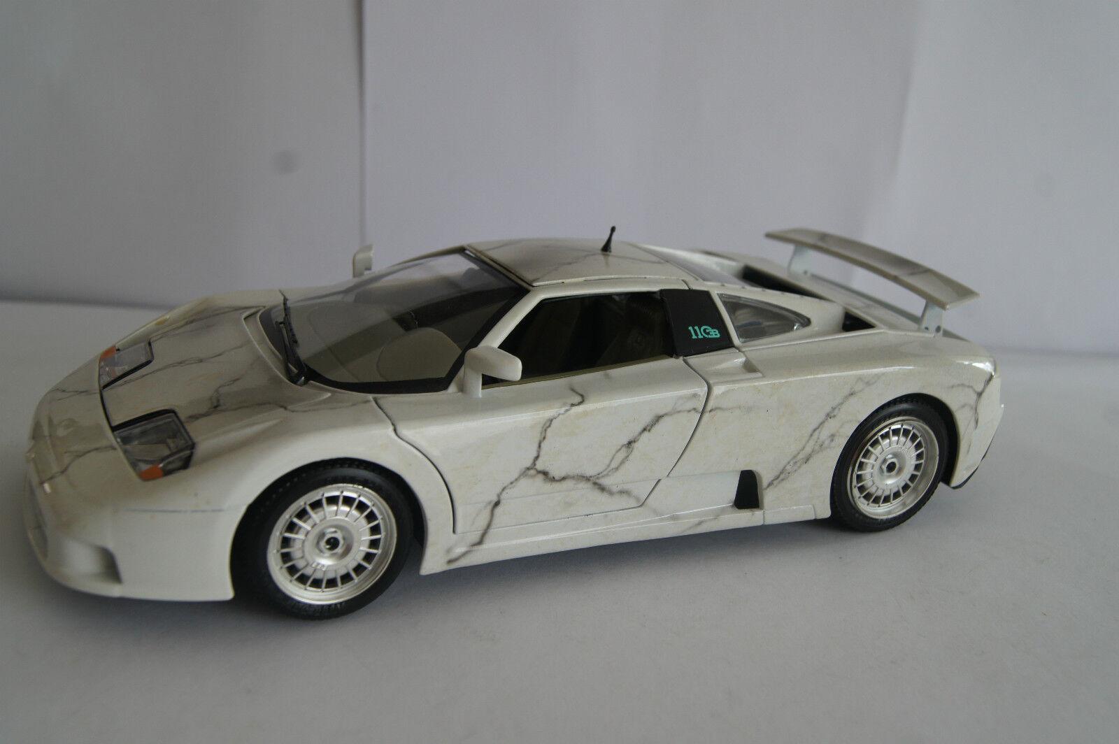 Modello di auto 1 18 Bugatti EB 110 BRACCIO & Götz marmo Motivo  in OVP
