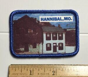 Mark Twain Riverboat Company Missouri Vintage Souvenir Travel Patch Hannibal