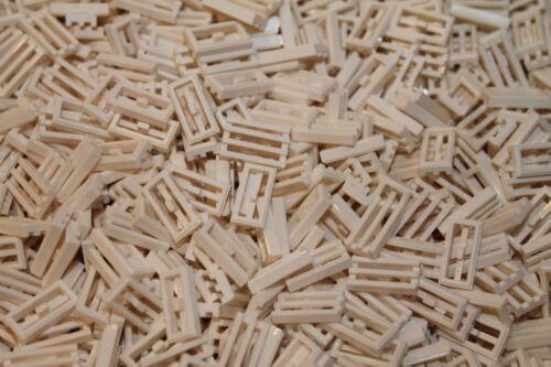 Fliese 500 x LEGO® Tile Fliesen mit Grill 1x2 in Weiß 2412 White NEU