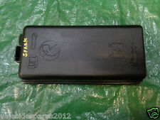 CHEVROLET SPARK 2013 FUSE BOX LID COVER