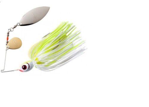 Booyah Blade Spinnerbait White Chartreuse 1080 Model BYBT 1//2 oz