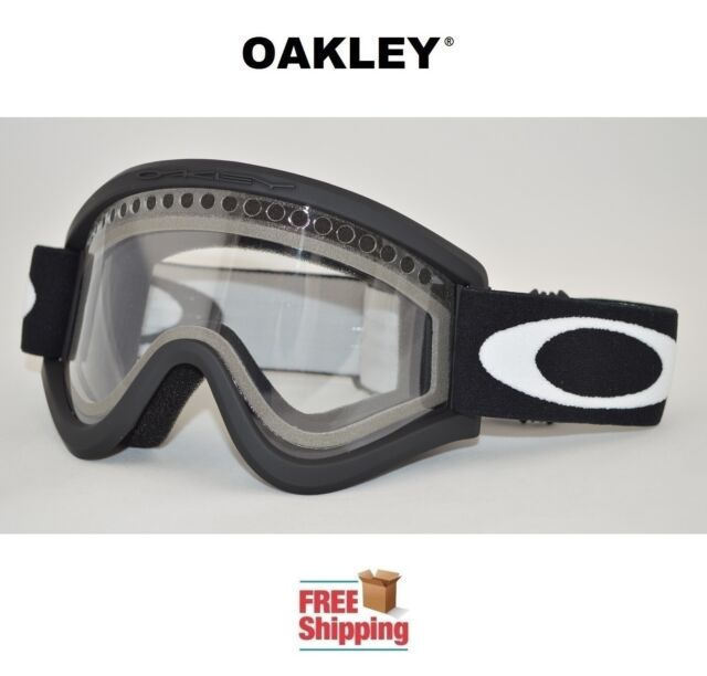 Oakley® Goggles E Frame® Dual Lens Snow Snowboard Ski Matte Black ...