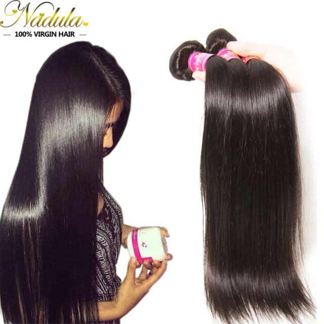 Nadula 3bundles Malaysian Straight Hair 300g 100 Virgin Human Hair