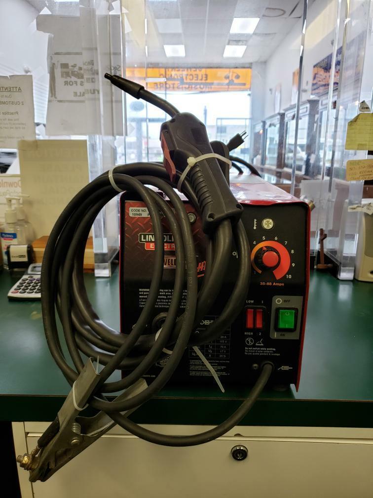 ezpawncorpnyc LINCOLN ELECTRIC WELD PAK HD WIRE-FEED WELDER 10949 (E10011960)