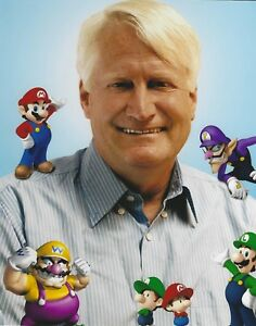 Details About Charles Martinet Super Mario Bros 8x10 Photo Nintendo Luigi Wario Voice Actor 64