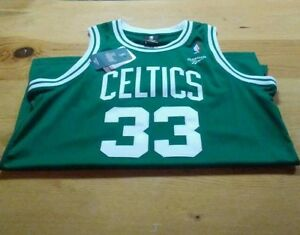 baa087a4ce0 ... Image is loading Larry-Bird-Jersey-Boston-Celtics-Soul-SwingMan ...