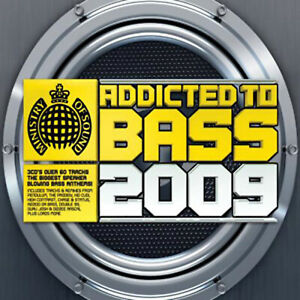 Various-Artists-Addicted-to-Bass-2009-CD-3-discs-2009-FREE-Shipping-Save-s