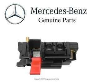 new mercedes cl500 cl55 amg s350 s400 s550 s600 fuse box genuine 220 rh ebay com mercedes s class fuse box mercedes s class fuse box location