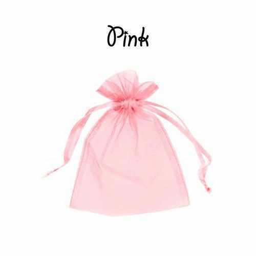17 x 23 cm Organza Gift Pouch Wedding Favour Bags Jewellery Pouch in 23 Colours!