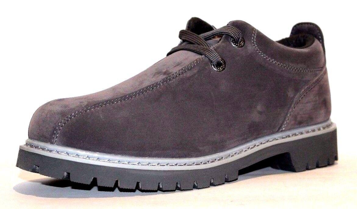 Lugz Men's Pathway Lo 2 Slip Resistant Boots, Charcoal Grey, Size 6.5 D US