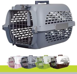 Plastic Air Flight Car Cargo Travel Puppy Dog Cat Pet Animal Carrier