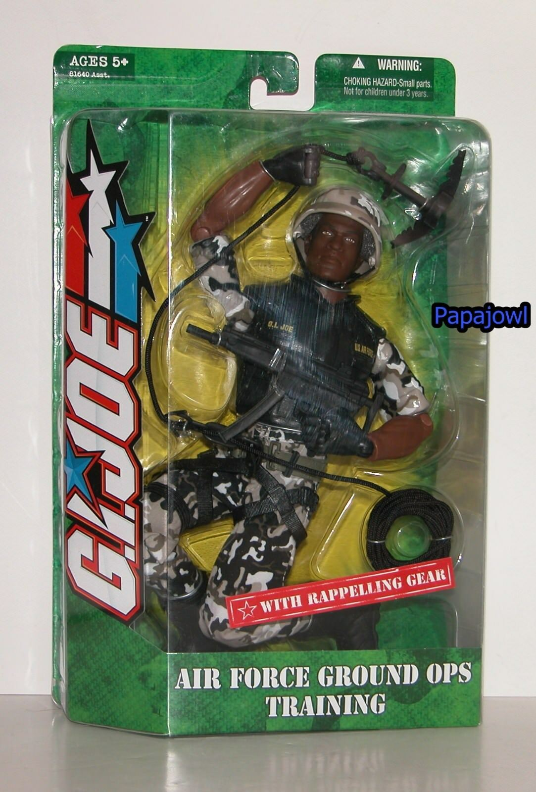 G.I. Joe Air Force Ground OPS Training With Rappelling Gear 12 cifra Hasbro