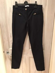 42 Worn Taglia 650 £ Genuine donna Collection Versace Rrp Once Pantaloni nqwxaPIY