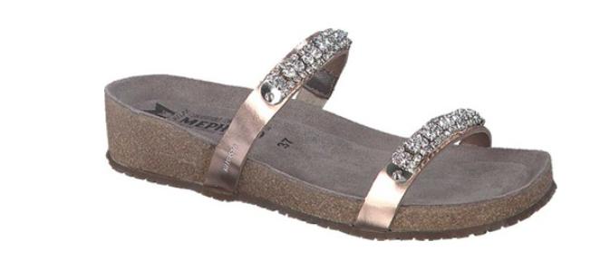 Mephisto Ivana Old Pink Star Comfort Sandal Womens Sizes 35-42 NEW