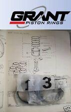 TRIUMPH GT6 Mk1 Mk2     PISTON RINGS SET Std  (1966- Eng 10,000)