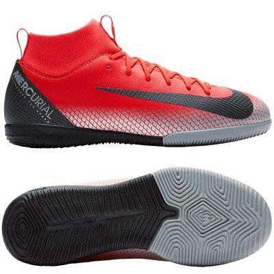 bajo precio 83b6f b701c Nike Mercurial CR7 Ronaldo SuperflyX VI IC Indoor 2018 Soccer Shoes Kids  Youth R | eBay