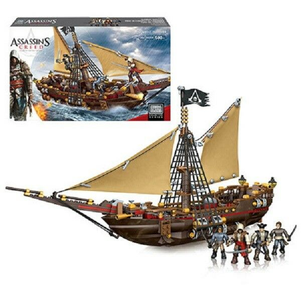 Mega Bloks Assassins Creed 94308 Gunboat Takeover  Playset NEW NEW NEW f8309e