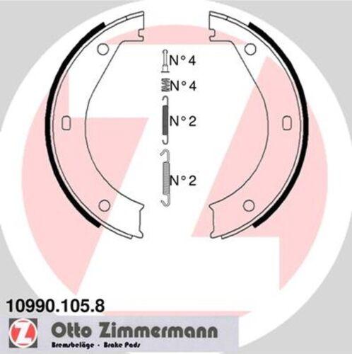 Feststellbremse ZIMMERMANN 10990.105.8 Bremsbackensatz