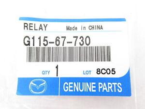 Mazda-G115-67-730-Blower-Motor-Relay-2-Genuine-OEM-New