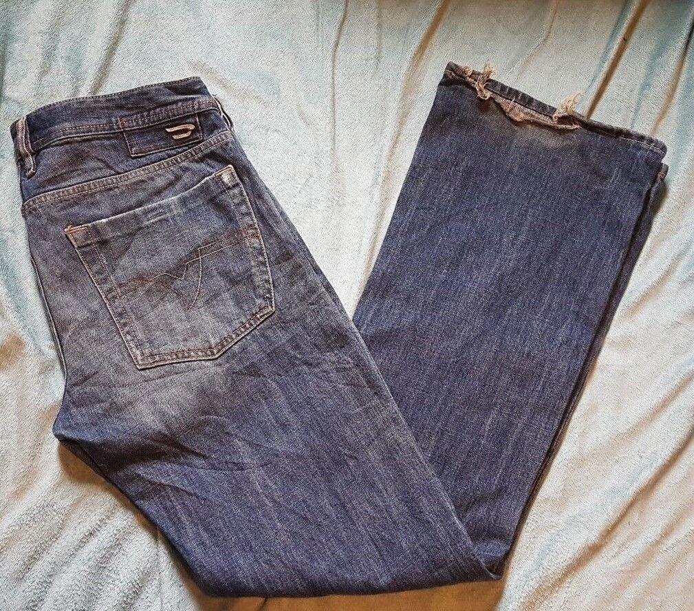 DIESEL 'ZATHAN' Mens Jeans Größe  W 32 L 32 VERY GOOD Condition  | Moderne Technologie  | Große Ausverkauf  | Gewinnen Sie hoch geschätzt