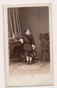 Vintage-CDV-Son-of-Julien-Francois-Desjardins-French-Zoologist-Disderi-PH-RARE