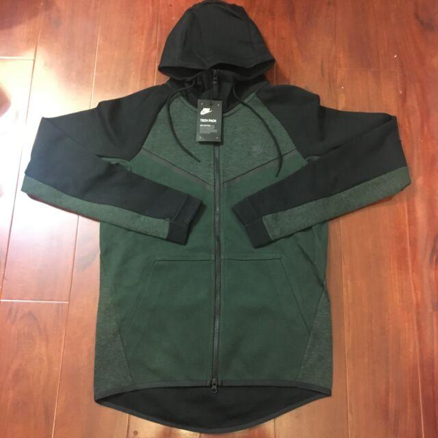 frío Burro casual  Nike Tech Fleece Windrunner Hoodie Jacket Outdoor Green Black 3xl 885904  372 for sale online | eBay