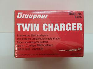Graupner-6425-Twin-Charger-Senderladegeraet
