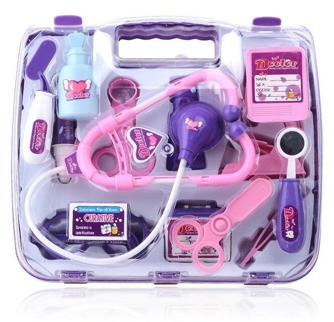 DOCTOR PLAY SET - MEDICAL KIT - BRAND NEW - Blue and Purple available