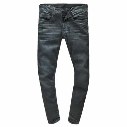 G-Star Raw Revend 3301 Slim Loomer Grey Denim Jeans 51001 7863 3143