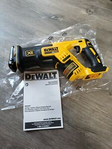 Tool Only DeWALT DCS367B 20V Max* XR® Brushless Compact Reciprocating Saw