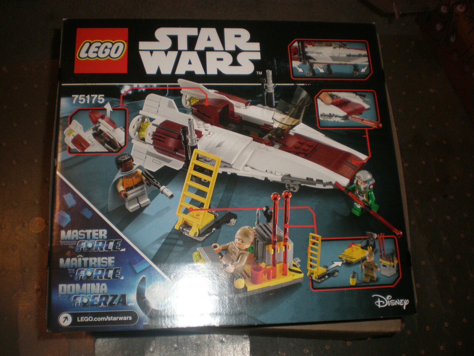 LEGO Star Wars A-Wing Starfighter Exclusive Set  75175