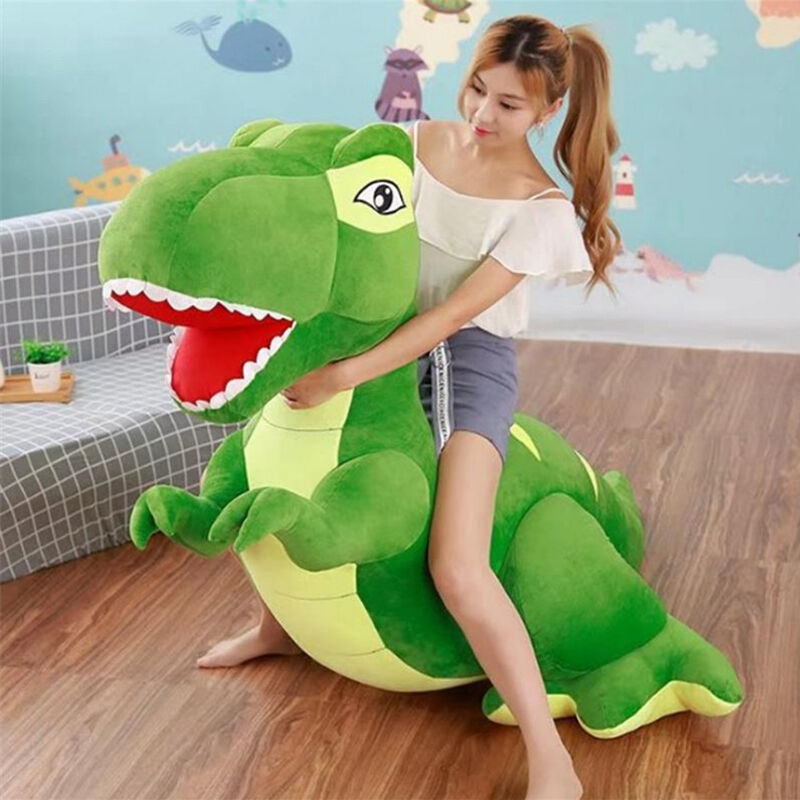 79'' Super Giant Large Dinosaurs Rex Plush Stuffed Doll Cuddly Animal Toys Gifts