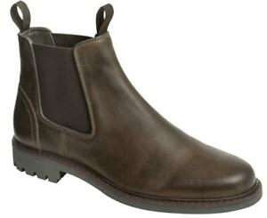 Hoggs-of-Fife-Banff-Country-Dealer-Boots-Waxy-Brown-boots-11498-Men-039-s