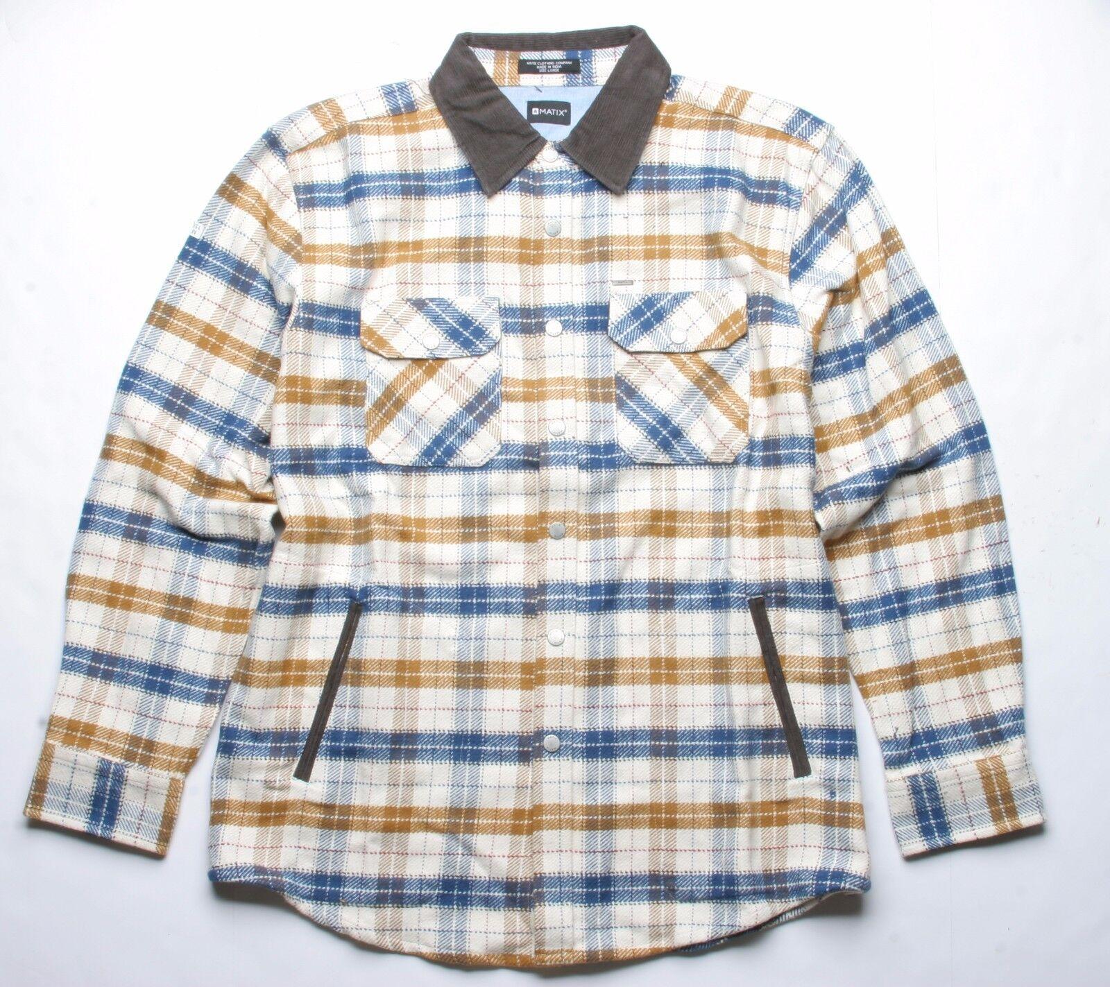 Matix Pathfinder Camicia di Flanella (L) Khaki